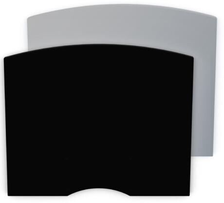 SMS Ablagebord Flatscreen shelf H mit Konsole grau