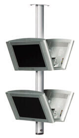SMS Flatscreendeckenhalterung CL ST1800 schwarz