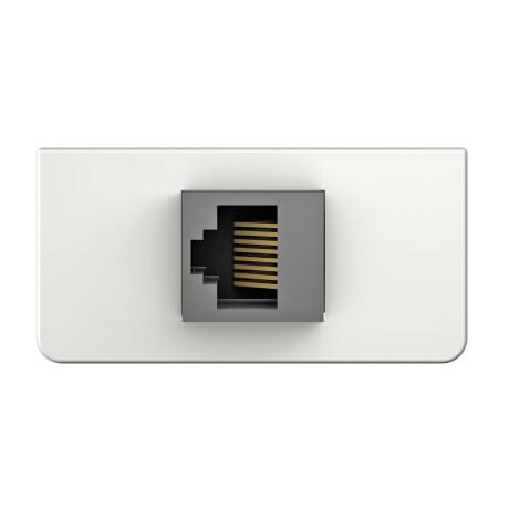 Kindermann Konnect design click Cat-7, Anschlussblende mit Schneid-/Klemmtechnik
