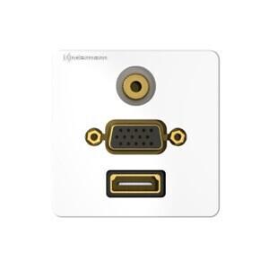 Kindermann Konnect design click HDMI, VGA, Audio