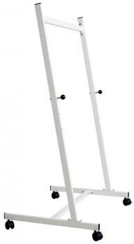 Smit Visual Tafel-Rollgestell weiß, 3 Höhenstellungen, 140cm