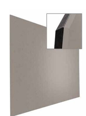 Smit Visual Shape Pin Panel bulletin, Float 90x120, grau