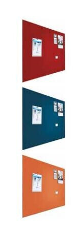 Smit Visual Shape Pin Panel bulletin, Float 90x120, blau