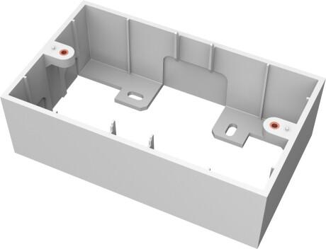 VISION TechConnect 3 2-Gang UK Backbox - Gehäuse