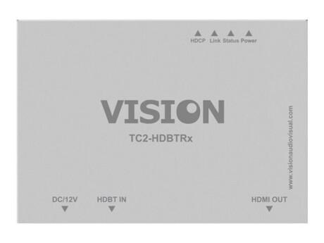 VISION Techconnect TC2-HDBT HDMI-over-CAT6 (Receiver) - Erweiterung für Video/Audio