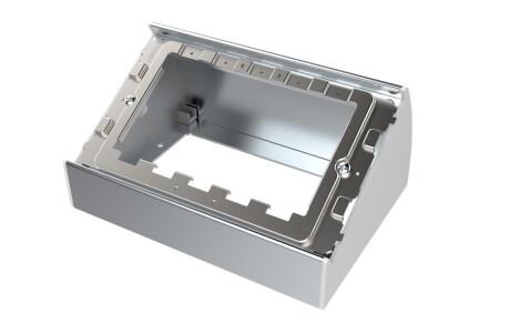 VISION TechConnect 3 2-Gang Table-Mounted Backbox - Gehäuse