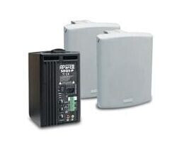 APart SDQ5P-W Kompaktes 2-Wege Lautsprecherset - Aktiv - weiß - Demoware