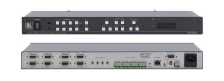 Kramer VP-4x4K 4x4 Matrixschalter für VGA/UXGA mit symmetrischem Stereoton