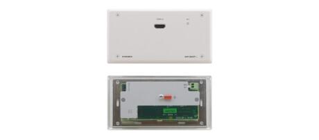 Kramer WP-580TXR Twisted Pair Ã?bertrager (HDBaseT) für HDMI, bidirektionales RS-232 und IR (Wandans