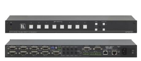 Kramer 8x1 Step-In Umschalter für Computergrafik-Video und Stereo-Audio