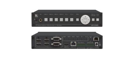 Kramer VP-440 Kompakter HDMI & VGA ProScale Präsentations-Umschalter /-Scaler mit HDBT-Ausgang