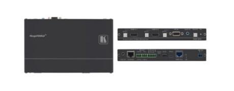 Kramer DIP-20 HDMI/VGA zu HDBaseT Übertrager & Step-In Steuermodul, mit Ethernet, bidirekt. IR & Ste