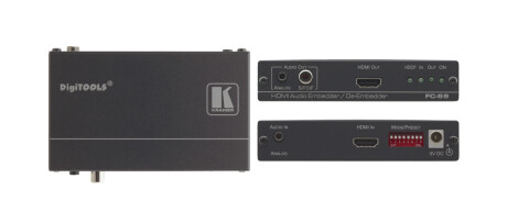 Kramer FC-69 HDMI-Audio Ein- und Auskoppler