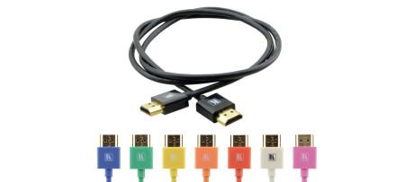 Kramer High-Speed HDMI-Kabel mit Ethernet, 90 cm schwarz