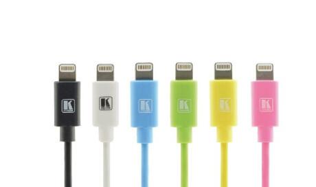 Kramer Lightning zu USB Sync- & Ladekabel, 0.9 m weiss
