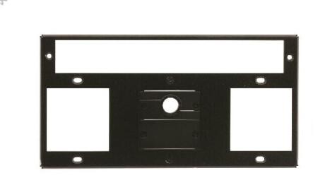 Kramer T10F-22M 2 Einzel-Steckdosen 2 Einbauslots 1 Einbauslot für ein Kramer MegaTOOL