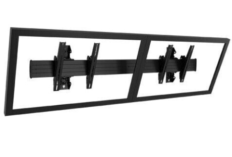 """Chief LWM2X1U Menu Board Display-Wandhalterung, Querformat, Schwarz (40"""" bis 55"""")"""