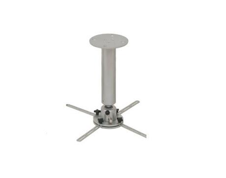 DELUXX Deckenhalter Profi-Line 30 cm silber