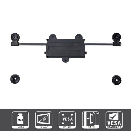 DELUXX Ultra Slim S400 | neigbarer TV-Wandhalter