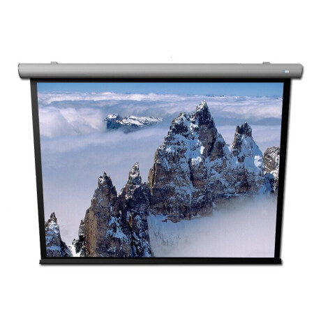 DELUXX Cinema Motorleinwand Elegance LightLine 16:9 Mattweiss Varico Ice 170 x 96 cm