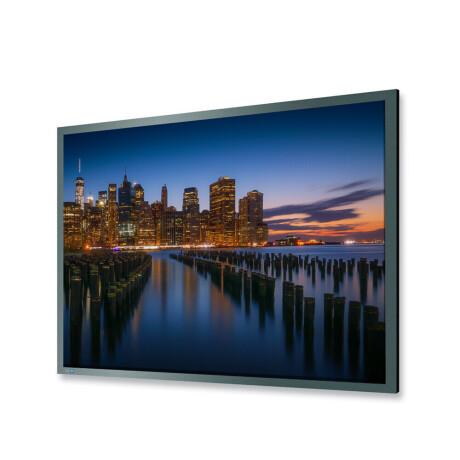 DELUXX Professional Rahmenleinwand Frame Pro 16:9 Mattweiss Vision 225 x 126 cm