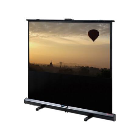 DELUXX Advanced Portable Self-Stand-X 171 x 128 cm 4:3 Mattweiss Polaro