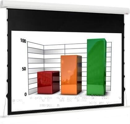 euroscreen Diplomat Tab Tension React 3.0 160 x 130 cm 16:10 Format
