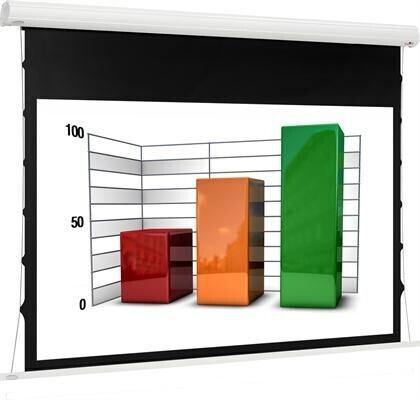 euroscreen Diplomat Tab Tension React 3.0 180 x 130 cm 16:9 Format