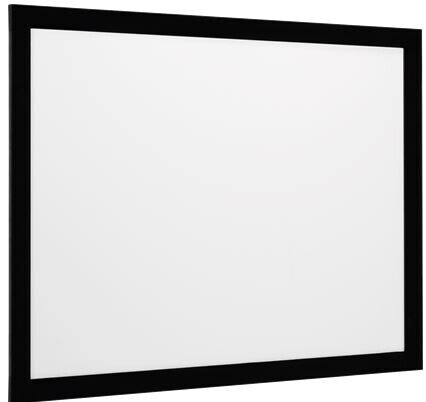 euroscreen Rahmenleinwand Frame Vision mit React 3.0 220 x 145 cm 16:10 Format