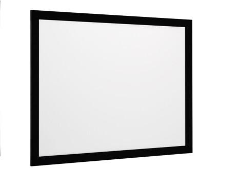 euroscreen Rahmenleinwand Frame Vision mit React 3.0 320 x 147,5 cm 2.35:1 Format mit Vel-Tex