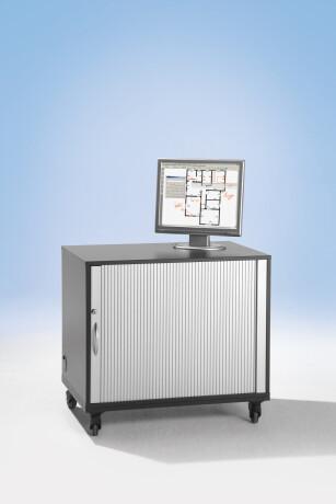 mimio Multifunktionaler Computerwagen (fahrbar)