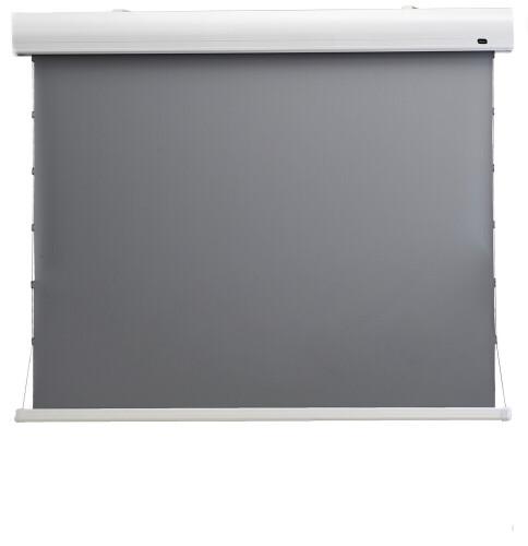"""Ecran de projection celexon Home Cinéma motorisé tensionné 199 x 112 cm, 90"""" - Dynamic Slate ALR"""