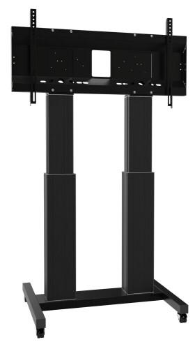 celexon Expert elektrisch höhenverstellbarer Display-Rollwagen Adjust-70120MB- 50cm