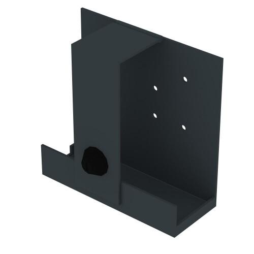 celexon Fujitsu Esprimo Q-serie (Q556, -558, -910, -957) Mini PC-Halterung für Displayständer Expert
