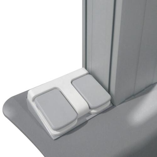 celexon Fußschalter in Grau für Displayständer Expert Serie