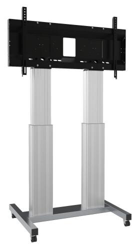 celexon Expert elektrisch höhenverstellbarer Display-Rollwagen Adjust-70120MS- 50cm
