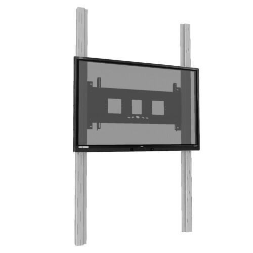 celexon Expert manuelles 2-Säulen-Pylonensystem Adjust-6586W für Displays