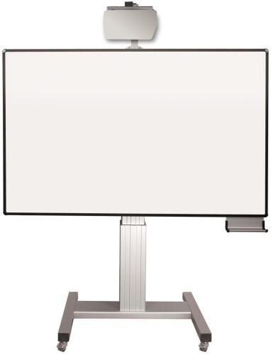 celexon Mobil Expert elektrisch höhenverstellbare Pylonentafel Adjust 192 x 120cm PEN