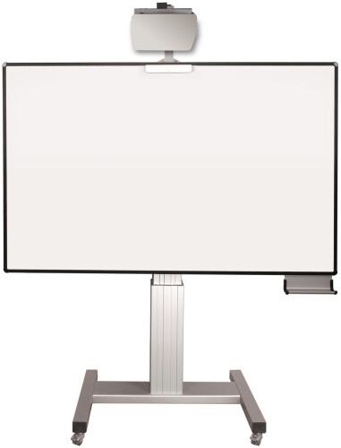 celexon Mobil Expert elektrisch höhenverstellbare Pylonentafel Adjust 192 x 120cm TOUCH