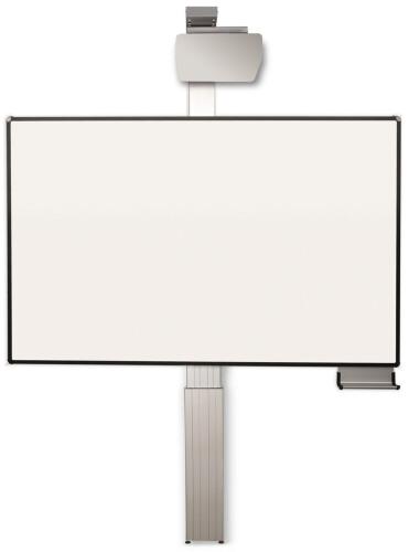 celexon Expert elektrisch höhenverstellbare Pylonentafel Adjust 192 x 120cm PEN