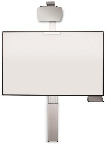 celexon Expert elektrisch höhenverstellbare Pylonentafel Adjust 192 x 130cm TOUCH