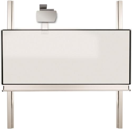 celexon Expert elektrisch höhenverstellbare Pylonentafel Adjust 300 x 130cm TOUCH
