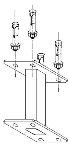 celexon Deckenabstandshalter für Professional Plus Anbau-Leinwände 40cm