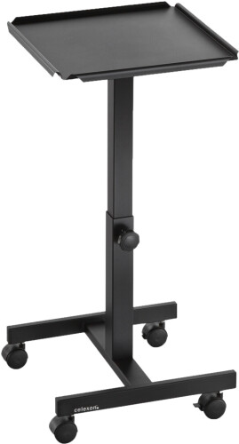 celexon Projektionstisch PT1010B - Farbe schwarz