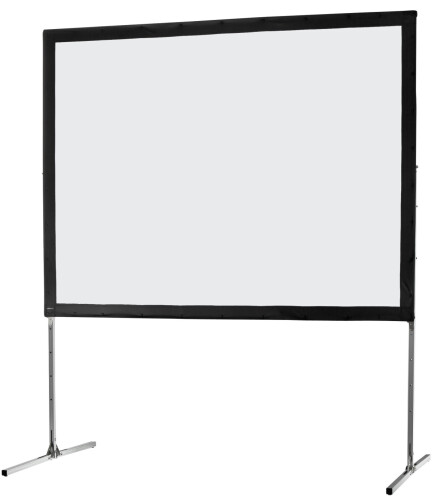 celexon Folding Frame screen 244 x 183cm Mobile Expert, front projection