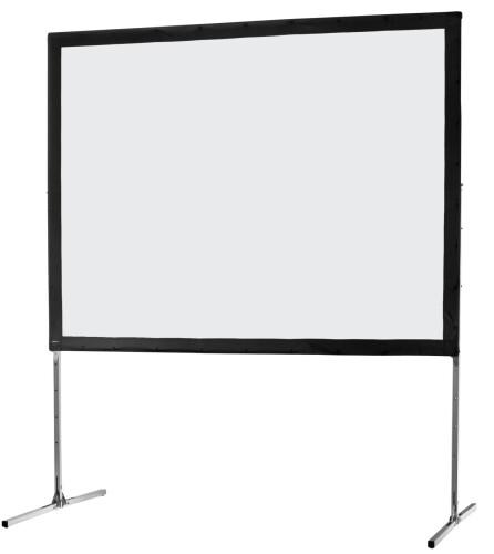 celexon Folding Frame screen 305 x 229 cm Mobile Expert, front projection