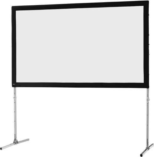 celexon Folding Frame screen 244 x 137cm Mobile Expert, front projection