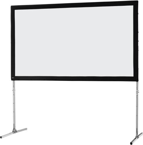 celexon Folding Frame screen 305 x 172cm Mobile Expert, front projection