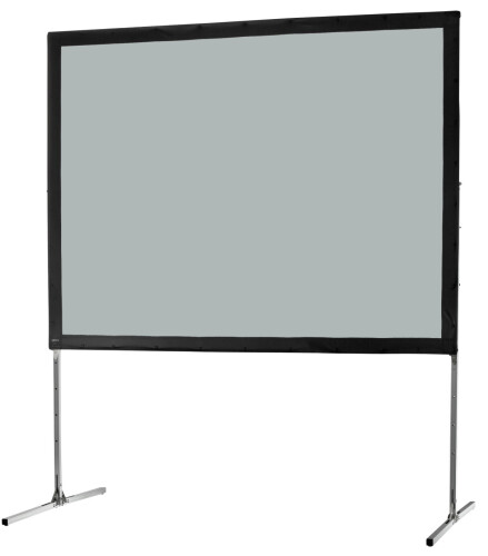 celexon Folding Frame screen 406 x 305cm Mobile Expert, rear projection