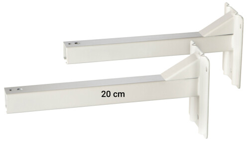 celexon wall spacers for professional screen series - 20cm